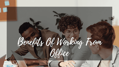 Why Working From Office Is Important At Startup?