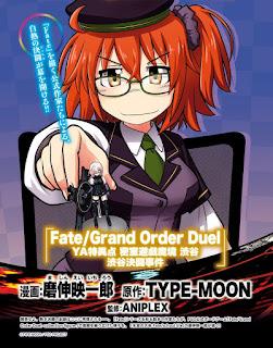 """Manga: Anunciado un nuevo manga de """"Fate/Grand Order"""" para febrero"""