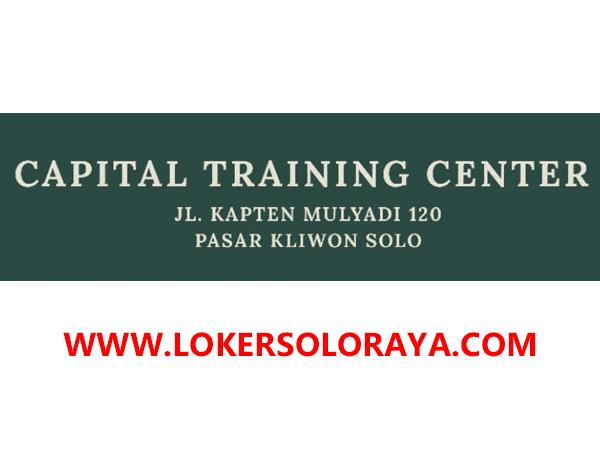Loker Admin dan Entry Data di Capital Training Center Solo