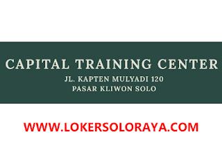 Lowongan Kerja Solo Lulusan SMA/SMK di Capital Training Center
