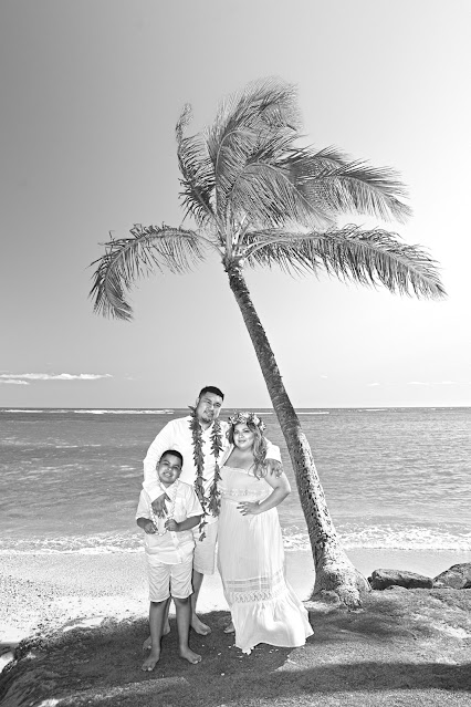 Hawaii Black White