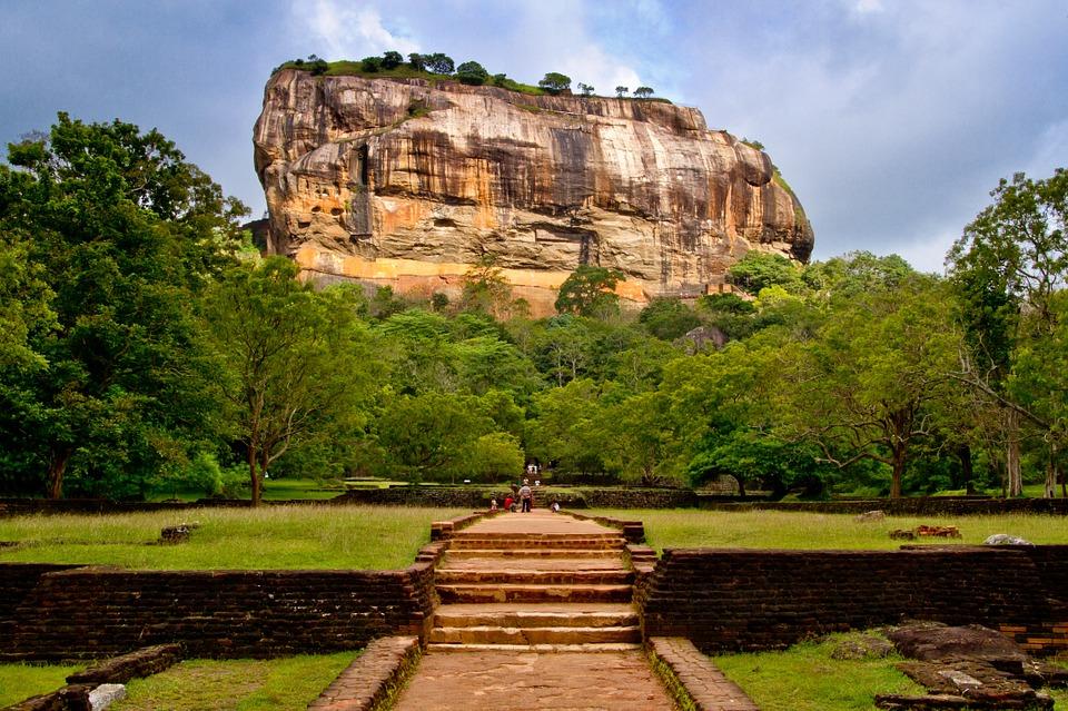 Sirigiya di Sri Lanka