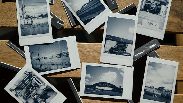 Le Mans in Polaroids