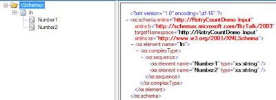 input schema