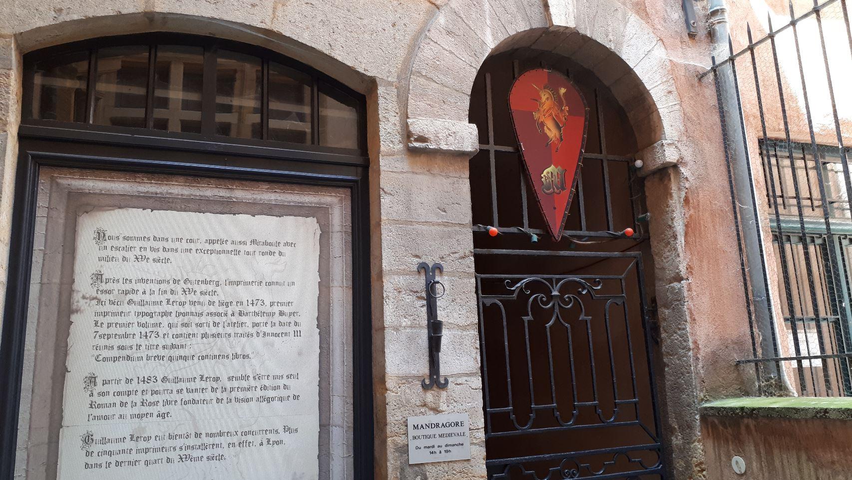 Mandragore, boutique médiévale
