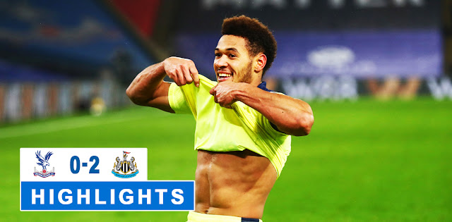Crystal Palace vs Newcastle United – Highlights