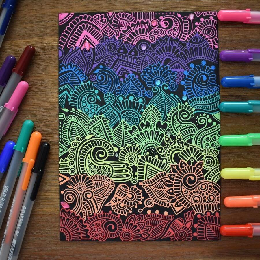 13-Mandala-and-Zentangle-Drawings-Simran-Savadia-www-designstack-co