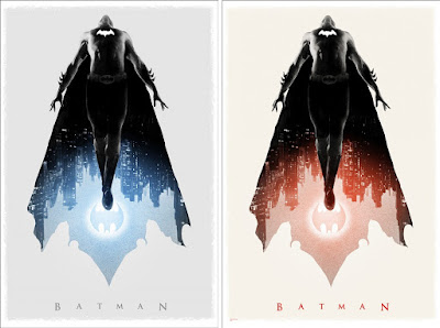 San Diego Comic-Con 2019 Exclusive Batman Screen Print by Greg Ruth x Mondo x DC Comics