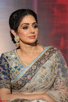 Sri Devi in designer saree stunning beauty at the launch of MOM movie Trailer~  Exclusive 115.JPG