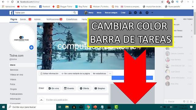 cambiar el color de la barra de tareas es algo muy fácil pero en ocasiones esta bloqueada la opcion de inicio, barra de tareas y centro de actividades en este post veras como desbloquearla y cambiar el color de la barra de tareas por tu color favorito