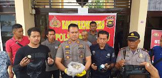 Kapolsek Kota Baru Jambi Beserta TIM Berhasil Menangkap Pelaku Pencurian Sarang Burung Walet Dan Penganiayaan.