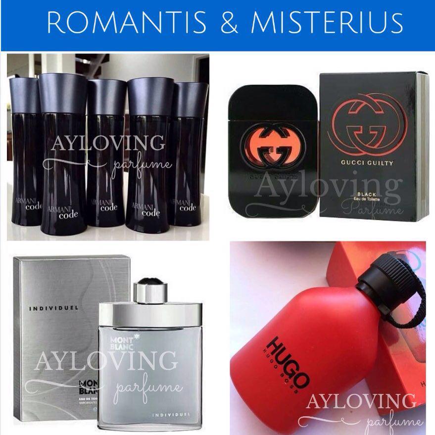 Contoh Parfum, CK Obsession Night, Mont Blanc Individuel, Gucci Guilty,  Hugo Boss Soul, Hugo Boss Red, Giorgio Armani ecf5334f5d7