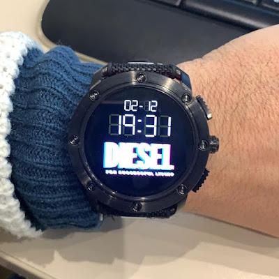 DIESEL India popular smart watch brand