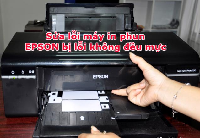 Hướng dẫn Clean mực máy in phun màu EPSON