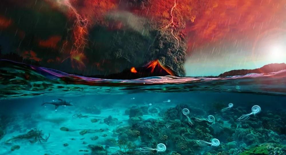 SCI-TECH : Cette extinction massive qui a tué presque toute la vie sur Terre expliquée