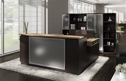 modern reception desk for sale