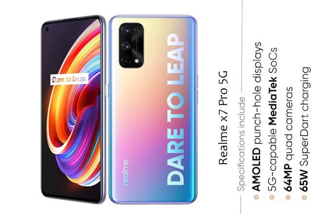 Dimensity 1000+ 5G Realme X7 Pro 5G - Full Phone Specifications Price in India