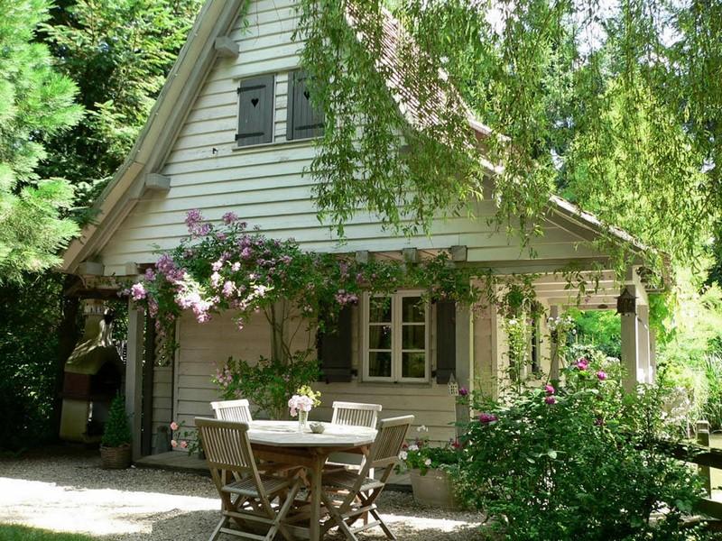 Le jardin des songes en alsacia una casa de campo para so ar - Jardines de casas de campo ...