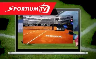 sportium tv pista tenis master 1000 roma
