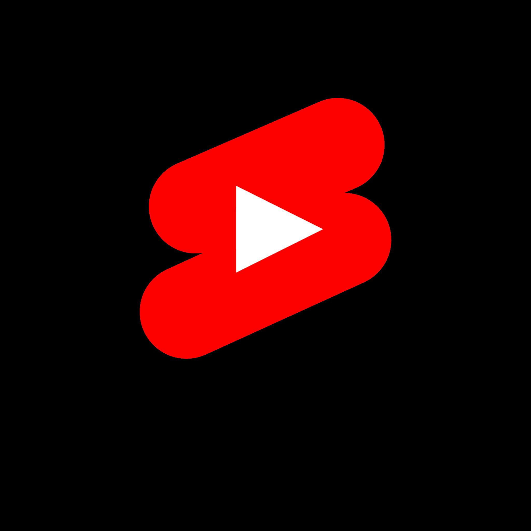 تحميل شعار يوتيوب شورت لوجو رسمي بصيغة شفافة Logo YouTube Short PNG
