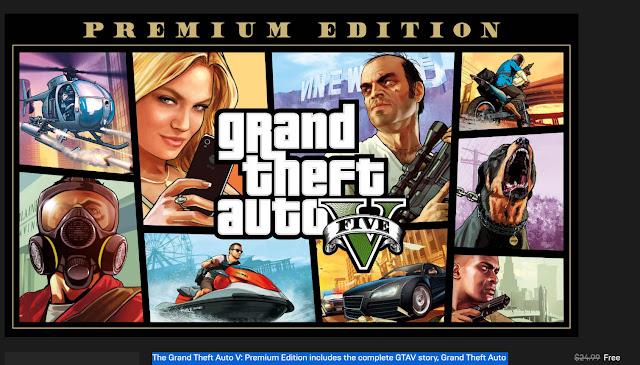 GTA V - Premium Edition (FREE)
