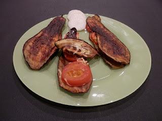Recette provençale de croque aubergine
