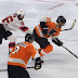 Shayne Gostisbehere sells high stick penalty with massive flop (Video)