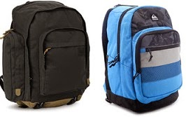 Flat 61% Off on Quik Silver Backpacks starts from Rs.581 Only @ Flipkart