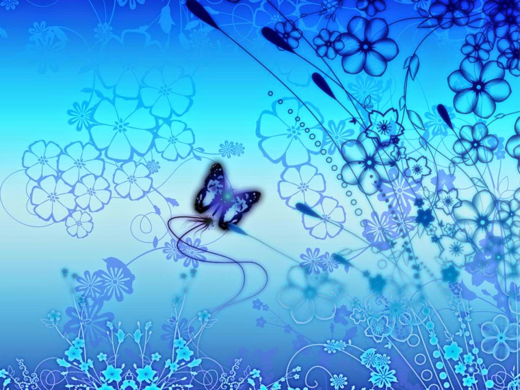 Blue Butterfly Best Art Designs Image Wallpapers