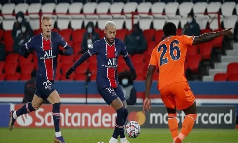 مباراة باريس سان جيرمان ولوريان الدوري الفنرسي