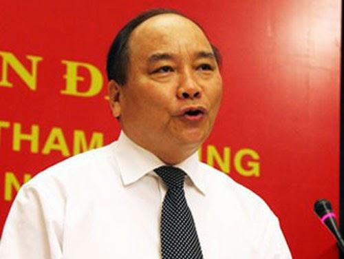 Phó thủ tướng Nguyễn Xuân Phúc đổ lỗi tham nhũng cho người dân!