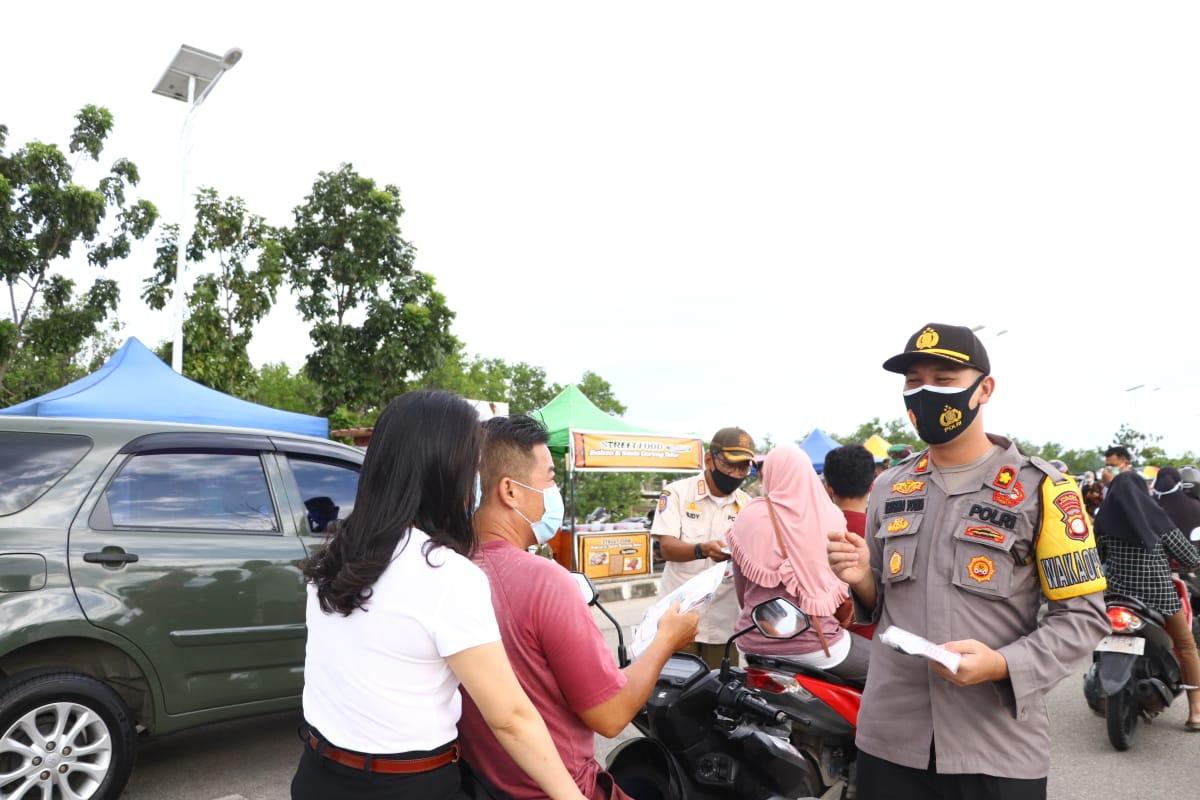 Wakapolres  Bersama Forkopimda Karimun Sambut Plt Gubernur Kepri  Untuk Kegiatan Pemberian Bantuan dan Rakor Kesiapan Pilkada