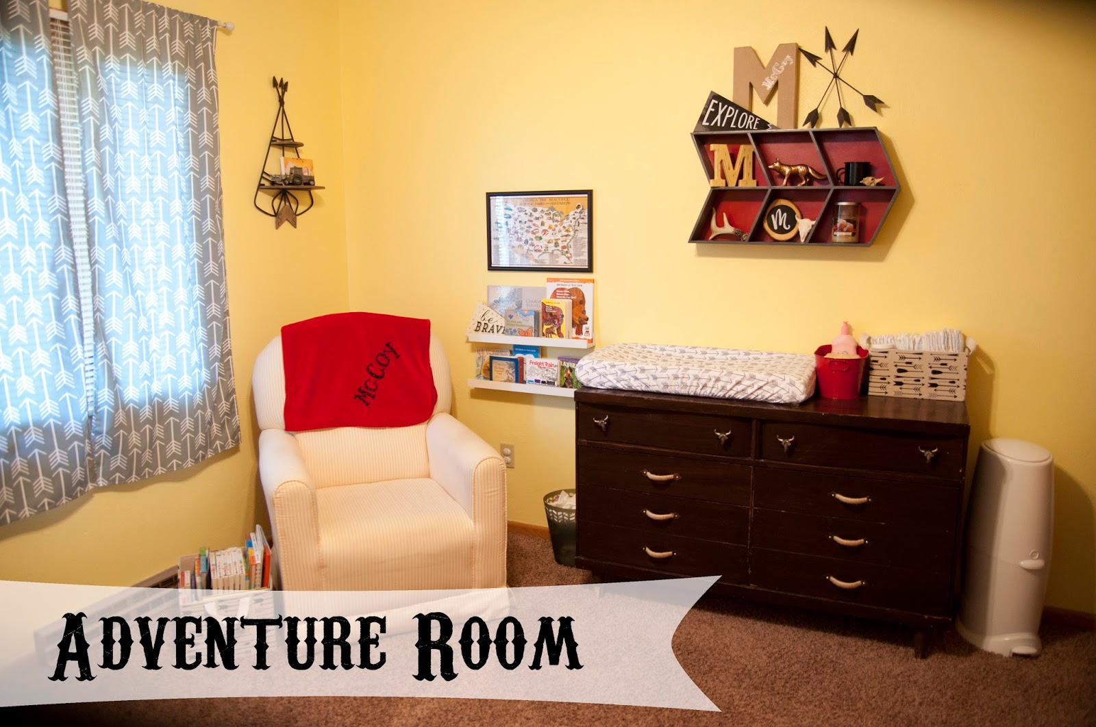 McCoy\'s Adventure Western Wilderness Room!!! - the farmer and the ...