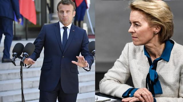 Ursula von der Leyen to Emmanuel Macron: You opened the doors to Russia in the Balkans