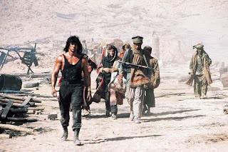 Sylvester Stallone desert Rambo sequel