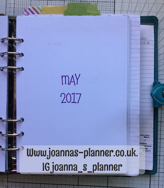 A5 Malden-filofax-planner-recollections-joanna
