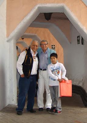 periodista cesar teran vega fernando alvarez camilo benitz plaza toros acho 2012 aficionados