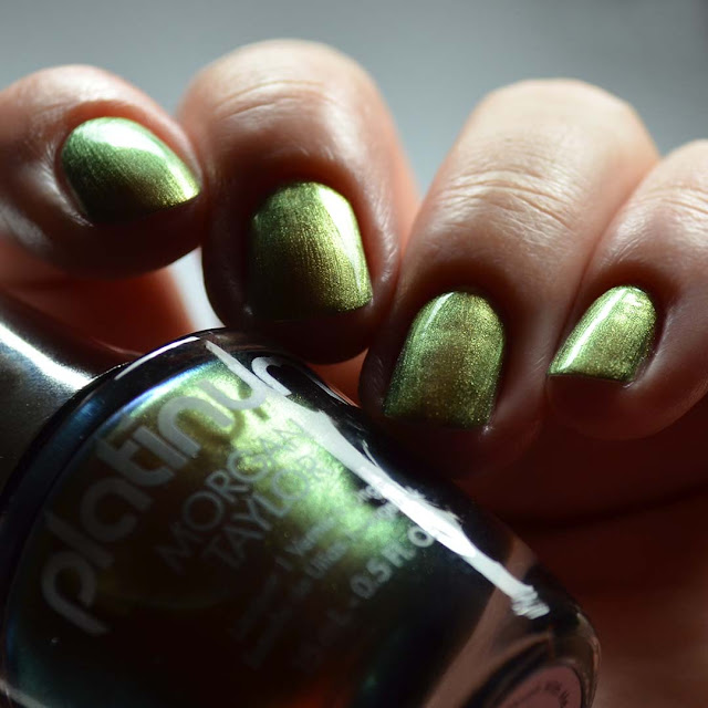 bronze duo chrome nail polish