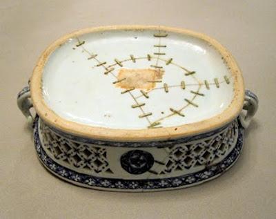 Chinese pottery repair