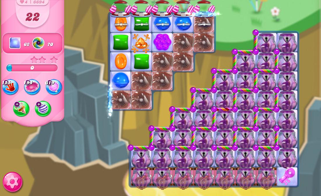 Candy Crush Saga level 6694