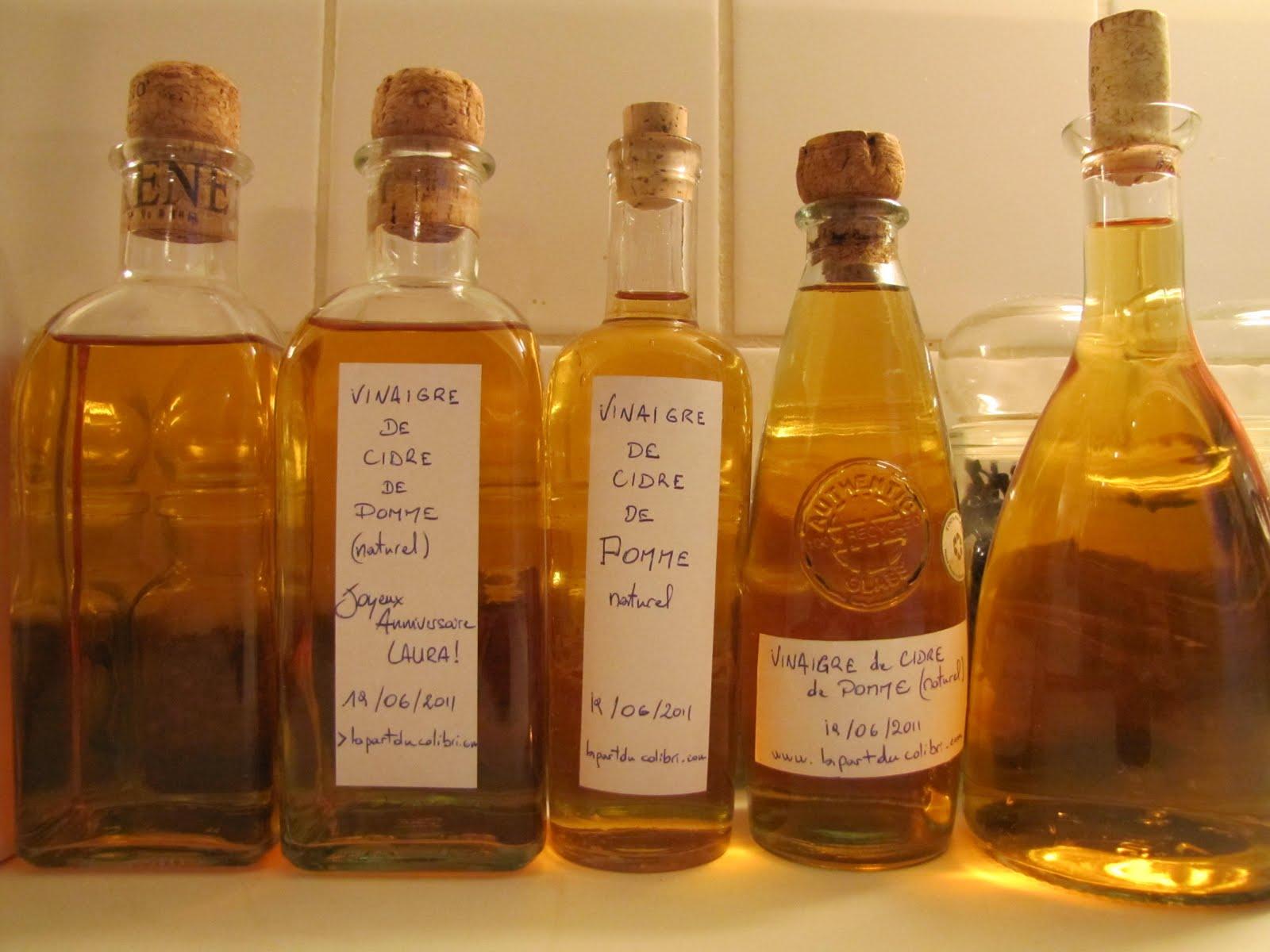 Mon vinaigre de cidre elixir de jouvence ma part du colibri - Faire son vinaigre de cidre ...