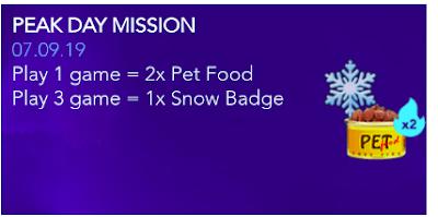 Cara Cepat Dapatkan Snow Badge FF Terbaru September 2019