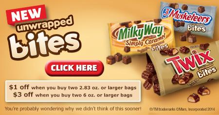 TWIX coupon