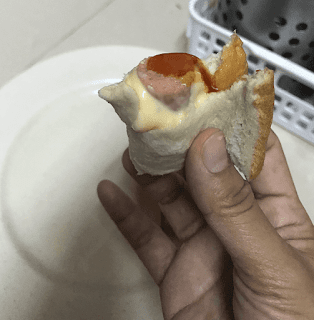 Resepi Roti Kukus Sosej Cheese Leleh Simple & Sedap