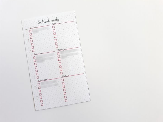 Back to School Bullet Journal Layouts Part 2