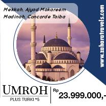 Umroh Pls Trk Alsha Tour