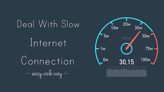 Fix slow internet connection at home