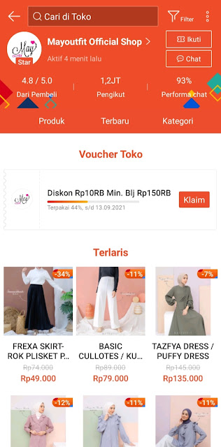 Mayoutfit Official Shop Shopee