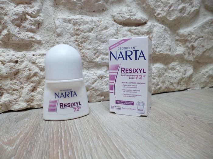 Déodorant resixyl narta