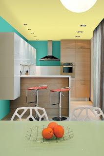 decorar cocina pequeña moderna